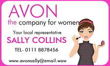 21 Gloss personalizzato Avon venditori catalogo ADESIVI, timbri, Etichette