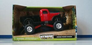 DODGE POWER WAGON 1:32 scale Die-Cast New Ray Extreme Off-Road Red