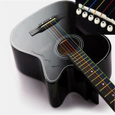 6PCS 1 Set New Useful Cool Unique Colorful Guitar Strings For Acoustic Guitar