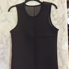 Shapers Neoprene Ladies Pull On Sauna Vest. Sz.Sm #1109 Remove Tag To Reverse