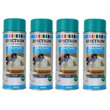 Vert viride Mat 4 Spray Peinture en Aérosol 4x400ml Bois,Métal,Plastique etc