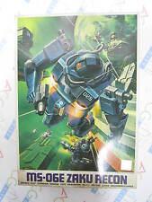 Gundam 0079 MSV No. 11 1/144 Scale MS-06E Zaku Recon Model Kit Bandai Japan