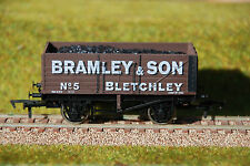 """4mm /OO GAUGE LIMITED EDITION COAL WAGON """"BRAMLEY & SON"""" OF BLETCHLEY"""