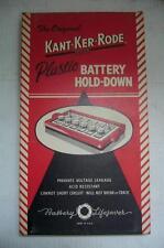 1950s VINTAGE MEMORABILIA AUTOMOBILE BATTERY HOLD DOWN PART IN ORIGINAL BOX ECIC