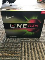 Brand New Nike ONE RZN GOLF BALLS ONE DOZEN