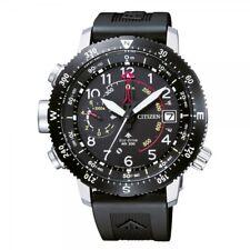 Citizen Promaster Altichron Land Herrenuhr Höhenmesser Kompass BN4044-15E