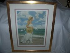 "Al Buell(1910-1996)Artist, NY, KS, Ltd Ed Litho ""Summer Dreams"", Signed, Framed"