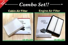 COMBO SET Engine&Cabin Air filter For Newest Sonata 2015 2016 2.4L ENGINE ONLY