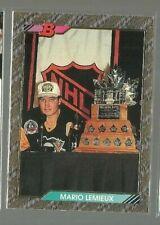 1992-93 Bowman #440 Mario Lemieux Smythe FOIL (ref 76794)