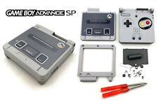 Full Kit coque Super Nintendo / Famicom SNES SFC Game Boy Advance SP Case Shell