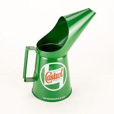 Castrol Classic Oil Jug Pourer Pouring Can - retro vintage quart 2 pint - New