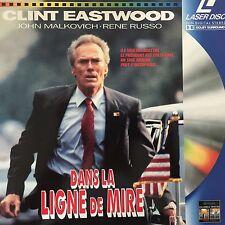 LASERDISC-DANS LA LIGNE DE MIRE- WS VF PAL -Clint Eastwood, John Malkovi
