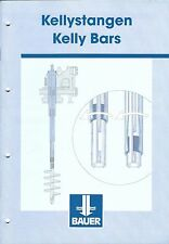 Equipment Brochure - Bauer - Kelly Bars - c2001 (E3443)