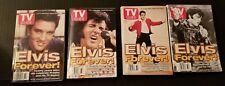 Vintage Elvis Presley TV Guides Lot of 4   August 16 1997