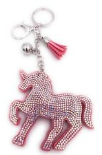 Einhorn Unicorn mit Kristallen Galopp Schlüsselanhänger Anhänger Taschenanhänger