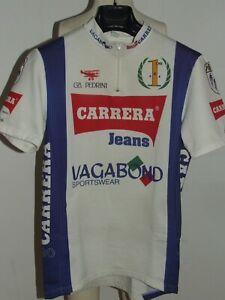Bike Cycling Jersey Shirt Maillot Cyclism Team Carrera Vagabond Size XL XXL