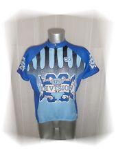 C - Maillot Cycliste Bleu Blanc JP Active Winter Taille XL