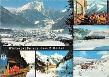 BG11619 mayrhofen mit grunberg wintergrusse aus dem zillertal   austria