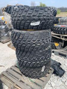 33x15.5x16.5 tires Wacker Neuson WL32 tires  Titan HD2000 6 Lug Rimshot Of 4 New