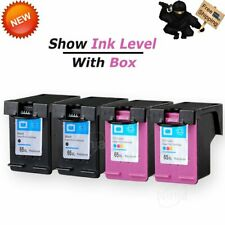 65XL Black Color Ink Combo Set for HP DeskJet 2622 2652 3752 ENVY 5052 5055 AMP