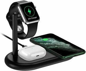 Yootech 3 in 1 Wireless Charging Station (Phone, Audio, Watch Stand) - Excellent