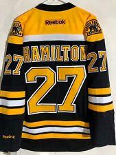 Reebok Premier NHL Jersey Boston Bruins Dougie Hamilton Black sz L 97f7c9ff6