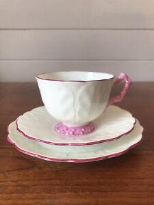 Vintage Aynsley Porcelain Tea Trio Cup Saucer and Plate Made In England AF