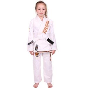Tatami Fightwear Meerkatsu Kids Animal BJJ Gi - White
