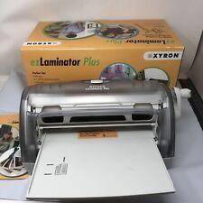 Ez Laminator Plus Xyron Technology Cold Laminating Machine Free Shipping