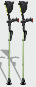 Ergobaum 7G Ergonomic Forearm Shock Absorber Crutches- Refurbished (1 Pair)