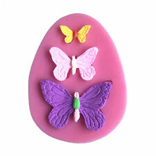 Silicone Butterfly Mold Cake Fondant Decorating Sugar Craft Mould Kitchen Tools
