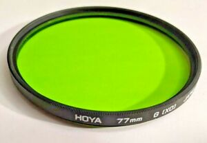 Genuine Hoya 77mm Yellow Green  X0 X-0 X 0 Glass Lens Filter Japan 77 mm G (X0)