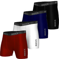 Mens Compression Boxer Shorts Base layers Sports Briefs skin fit gym pants ROXX