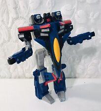 2001 Transformers Thundercracker Armada BLue Fighter Jet Plane Hasbro Decepticon