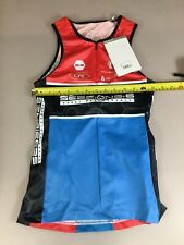 Pearl Izumi Womens Elite Tri Triathlon Top Jersey Medium M (6910-21)