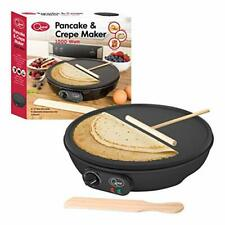 """Quest 35540 Traditional Electric Pancake & Crepe Maker 12"""" Hot Plate"""
