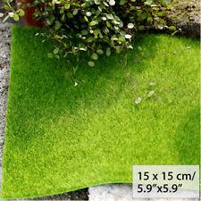 Artificial Faux Garden Turf Grass Lawn Moss Miniature Craft Dollhouse Decor