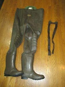 RedHead Bone-Dry  Brown Size 12 Waterproof 200g Chest Waders