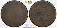 1803 Drapped Bust Cent Small Date, Large Fraction - PCGS Genuine AG Detail R-4.5