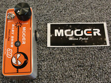 Mooer Baby Bomb 30 30 Watt Digital Guitar Power Amp Micro Effects Pedal Size