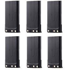 6X 1800mAh NiMh KNB-14 KNB-15 Battery for KENWOOD TK260 TK360 TK270 TK370 Radio