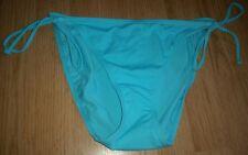 BNWT Gorgous blue GEORGE side tie bikini bottoms size 18