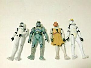 Modern Star Wars Storm Troopers Figure lot