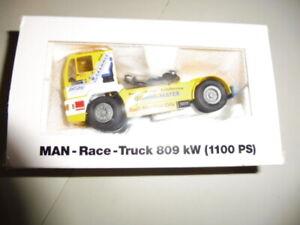 Miniature ; truck CONRAD MAN race - 809 kw - model 6000/02 GUMMI MAYER - 1/50