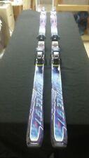 Salomon 195cm F9 Skis W/ Salomon Driver Bindings