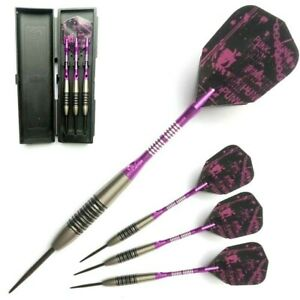 PHIL TAYLORS. 24 GRAM 90% TUNGSTEN Darts Set. With Hard Back Case.