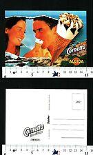 ALGIDA - CORNETTO CUORE DI PANNA - CARTOLINA PUBBLICITARIA - 56709