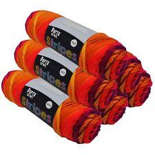 Stripes Acrylic Yarn 100g 150m 8ply Fruity