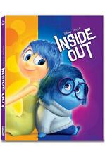 Inside Out .Blu-ray Steelbook 2D + 3D Combo Full Slip Type A