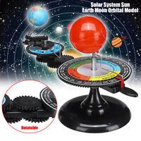 Solar System Sun Earth Moon Orbital Planetarium Model Learning Educational Kit